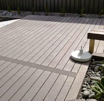 3 buenas alternativas para el suelo de tu terraza for Suelo composite exterior