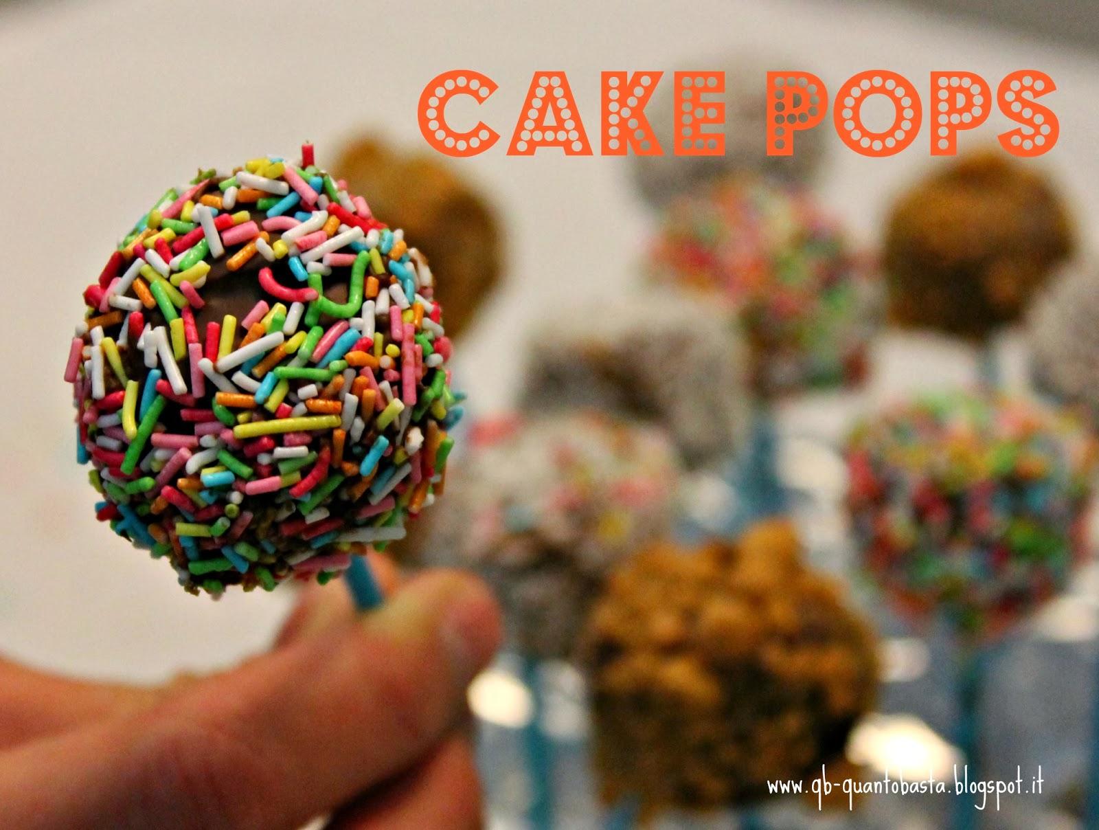 Q.b.- Quanto Basta.: Cake Pops