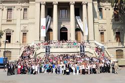 Se cumple un año del Congreso de Literatura Infantil, en Chile y el terremoto!!!!