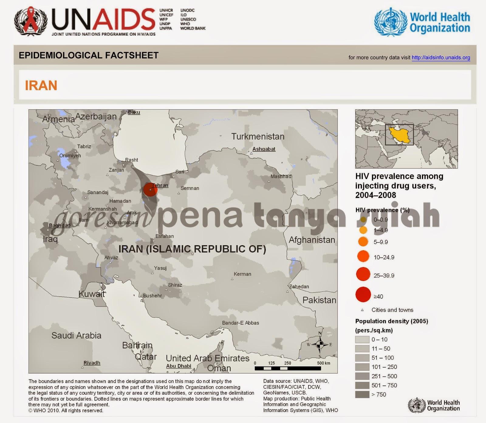 HIV AIDS Syiah Iran Tertinggi di Timur Tengah