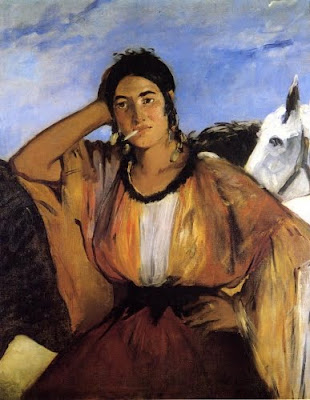 Edouard Manet: Gipsy with a Cigarette