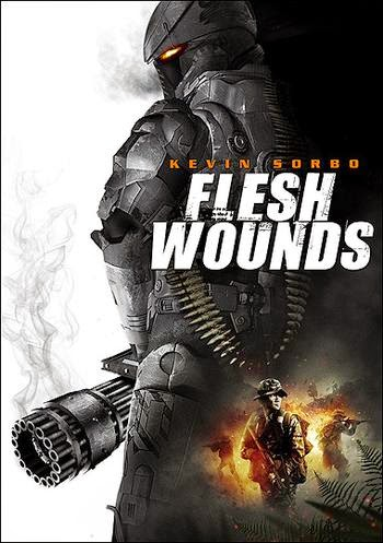 Free Get BluRay Rip 720p Dual Audio (Hindi - English) Flesh Wounds (2011)