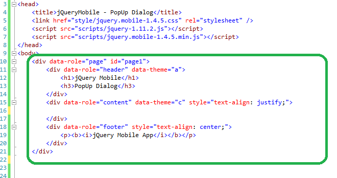 How to create a jQueryMobile Popup Dialog in 10 minutes   2