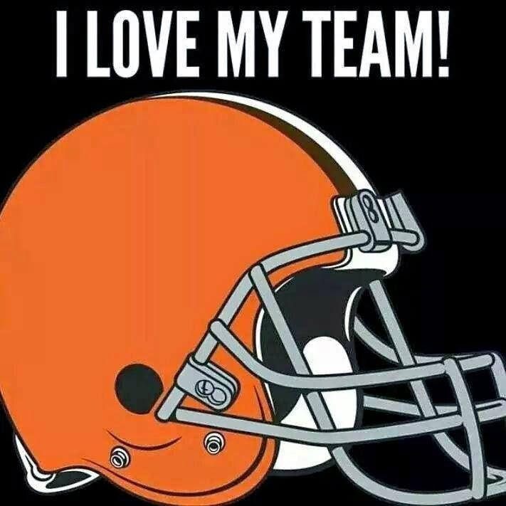 I love my team! Browns