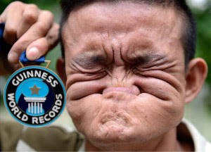 World's 'Ugliest Face, A Man Won $10,000 Guinness World Record