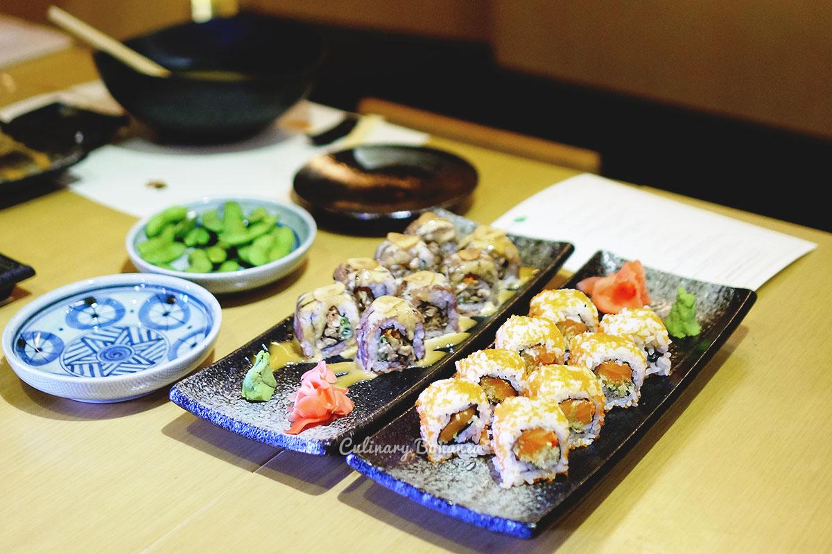 Sushi at Koiki Eatery Senopati (www.culinarybonanza.com)