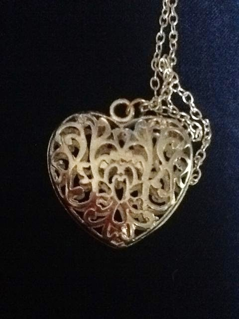 Heart necklace for mother's day
