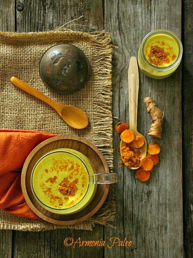Golden Turmeric Coconut Milk - Latte d'Oro - Latte di Cocco alla Curcuma di Armonia Paleo