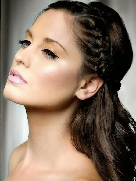 black long wedding hairstyles