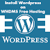 How to Install Wordpress on WHDMS Free Hosting