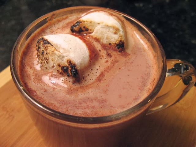 How to Make Hot Cocoa with Cacao Powder | www.therisingspoon.com