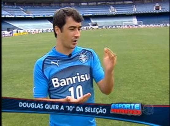 Douglas quer a camisa 10 na seleção