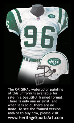 New York Jets 2000 uniform