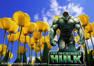 The Incredible Hulk Desktop Wallpaper. The Incredible Hulk The Movie at Flowers Tulips Field background
