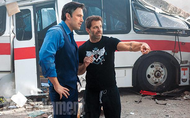 Genial la camiseta de Batman V Superman de Zack Snyder