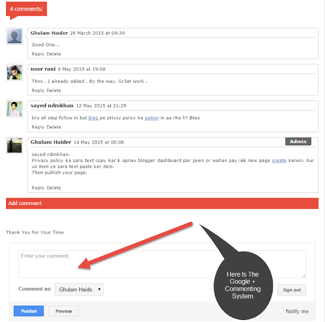 How To Add Google + Commenting System To Your Blogger Blog