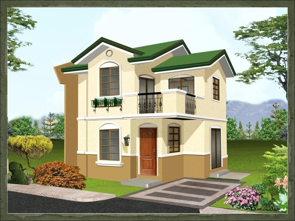 Garnet dream home design of lb lapuz architects builders for Small house exterior design philippines
