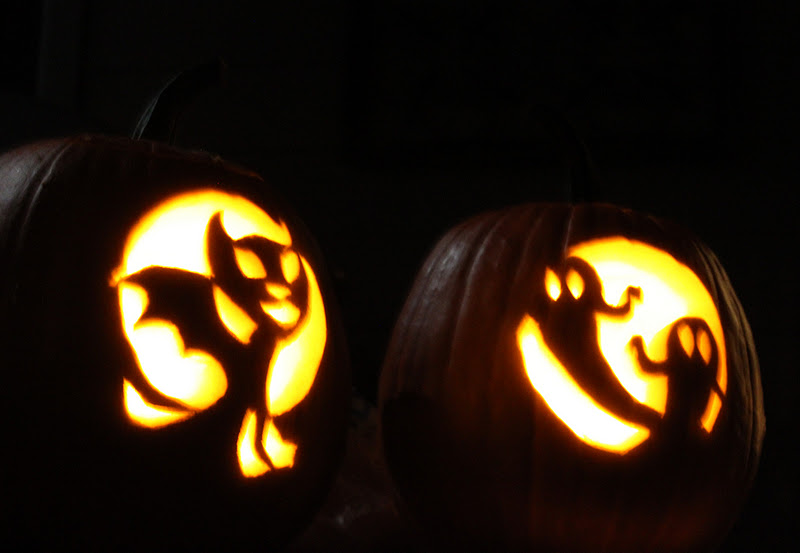 jason and ashley glover pumpkin carving and stuff