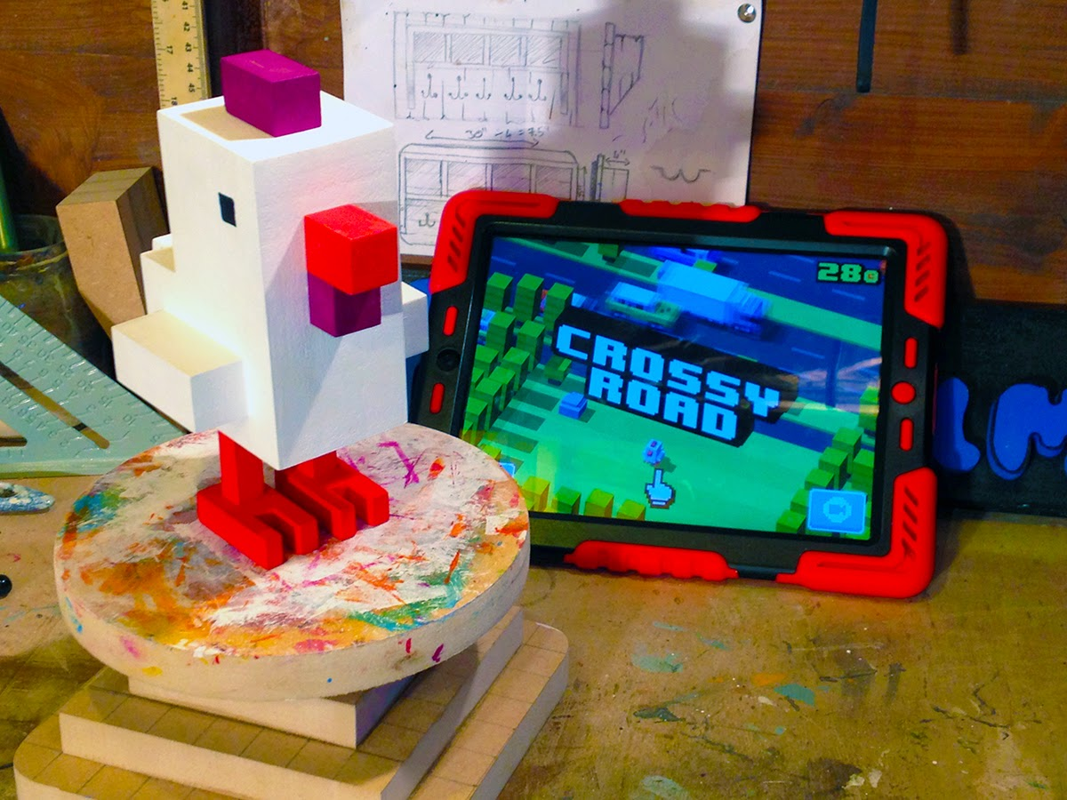 How to make your own Crossy Road chicken