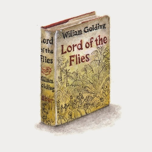23-Lord-of-the-Flies-Lorraine-Loots-Miniature-Paintings-Commemorating-Special-Occasions-www-designstack-co