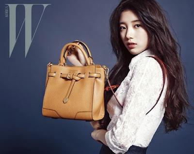 Suzy miss A W Magazine December 2013