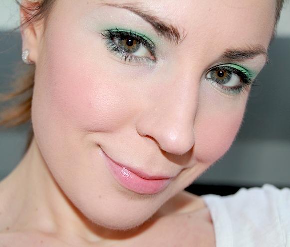 lancome les yeux doux palette C50 vert tendresse test maquillage