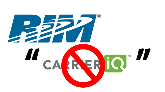 carrier iq not present in rim and nokia phones