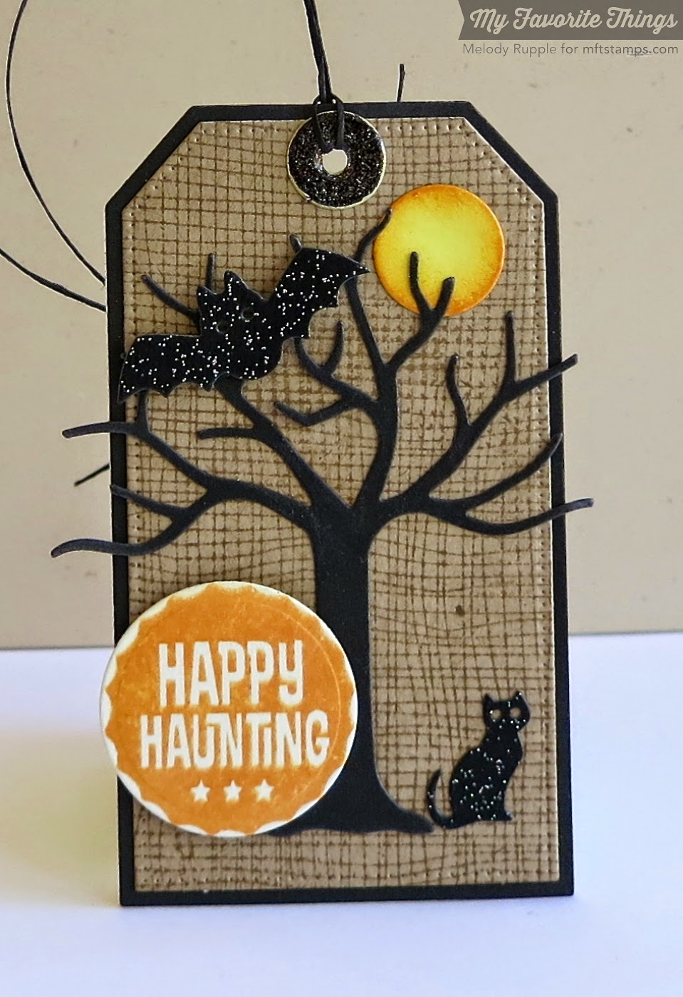 A Paper Melody: MFT's August Release Countdown Day 1 - Halloween Tags