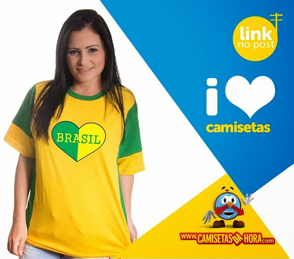camiseta copa do mundo 2014