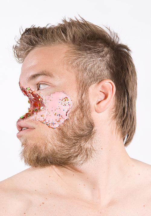 Candy Mutilated Faces by Ashkan Honarvar