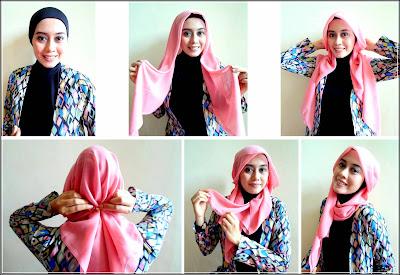 Model jilbab panjang