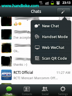 Home WeChat Pilih ► Web WeChat