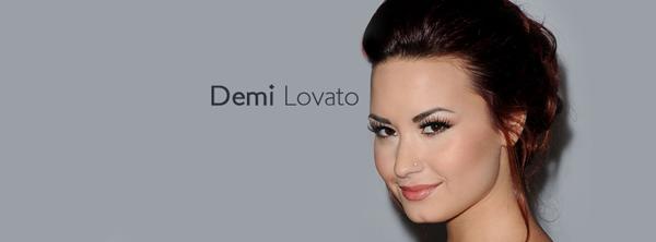 Demi Lovato Facebook Cover