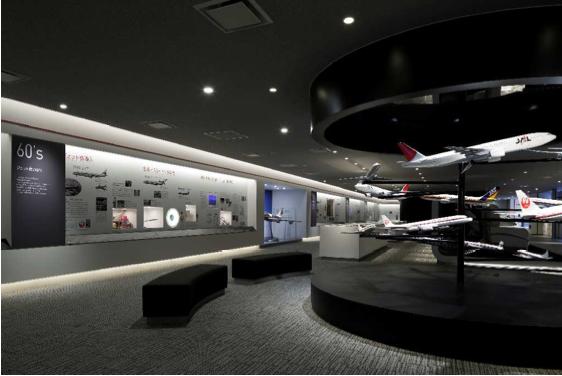 JAL SKY MUSEUM - Archive Area