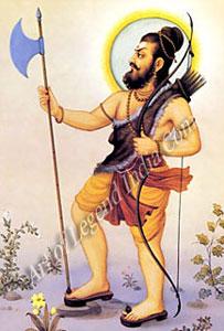 Vishnu as Parashurama