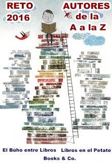 RETO AUTORES DE LA A A LA Z 2016