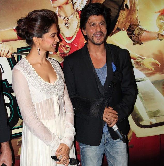 Deepika Padukone Chennai Express with SRK