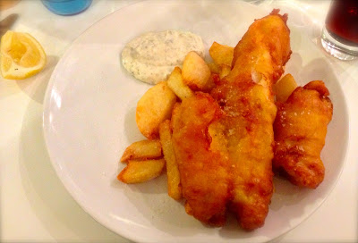 Fish and Chips from Fish at 85 Cardiff