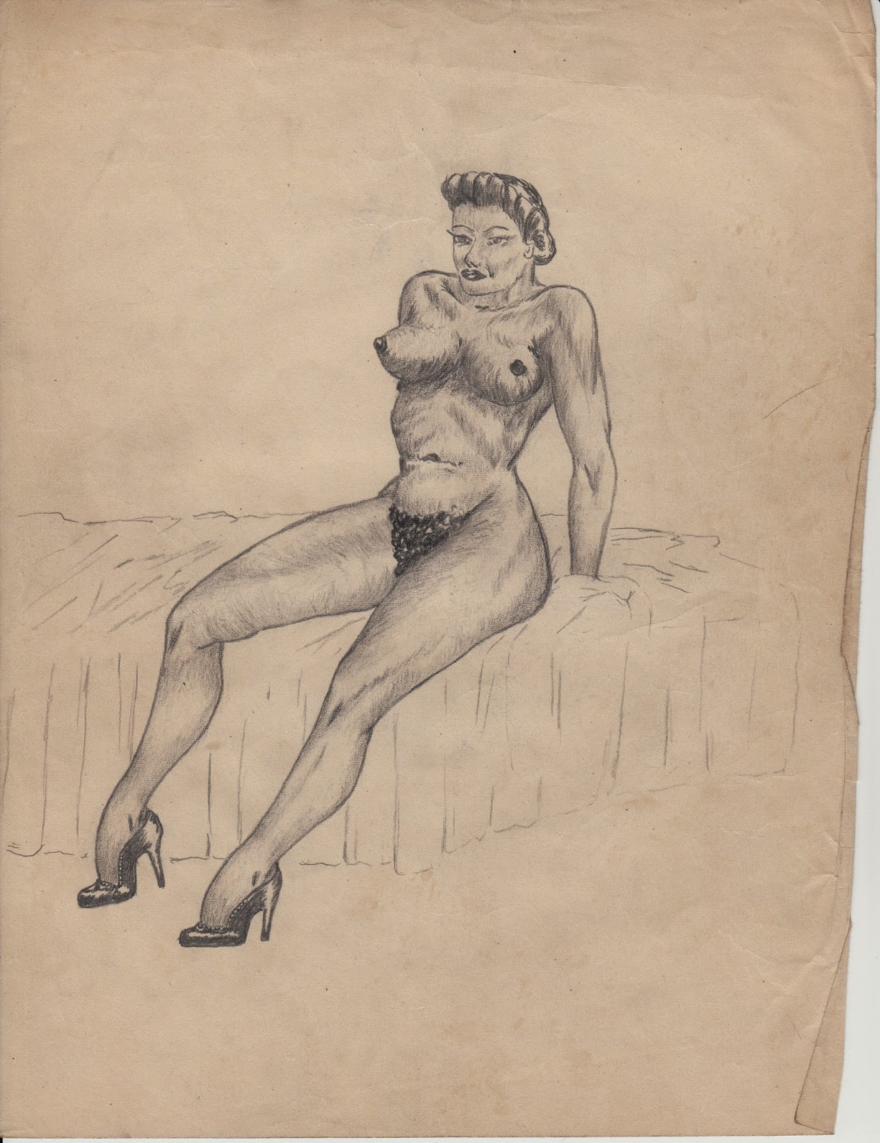 Drawings interracial erotic — 9
