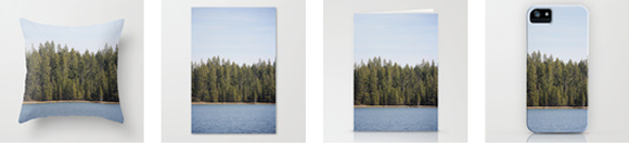 http://society6.com/RachelFollett/South-Twin-Lake-Oregon_Print#1=45