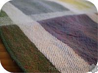 ProsperityStuff Serger project: rolled hem on kitchen linens