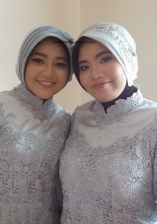 makeup natural stylist hijab pesta