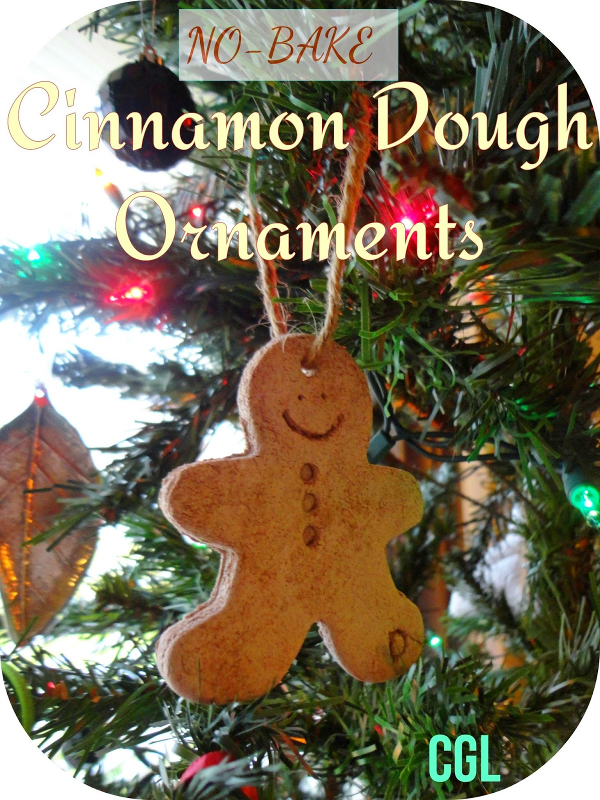 No-Bake Cinnamon Dough Ornaments --crafty-go-lucky.blogspot.com