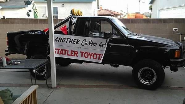 Daily Turismo: Even Closer! 1985 Toyota Pickup, 4x4 w/ XtraCab