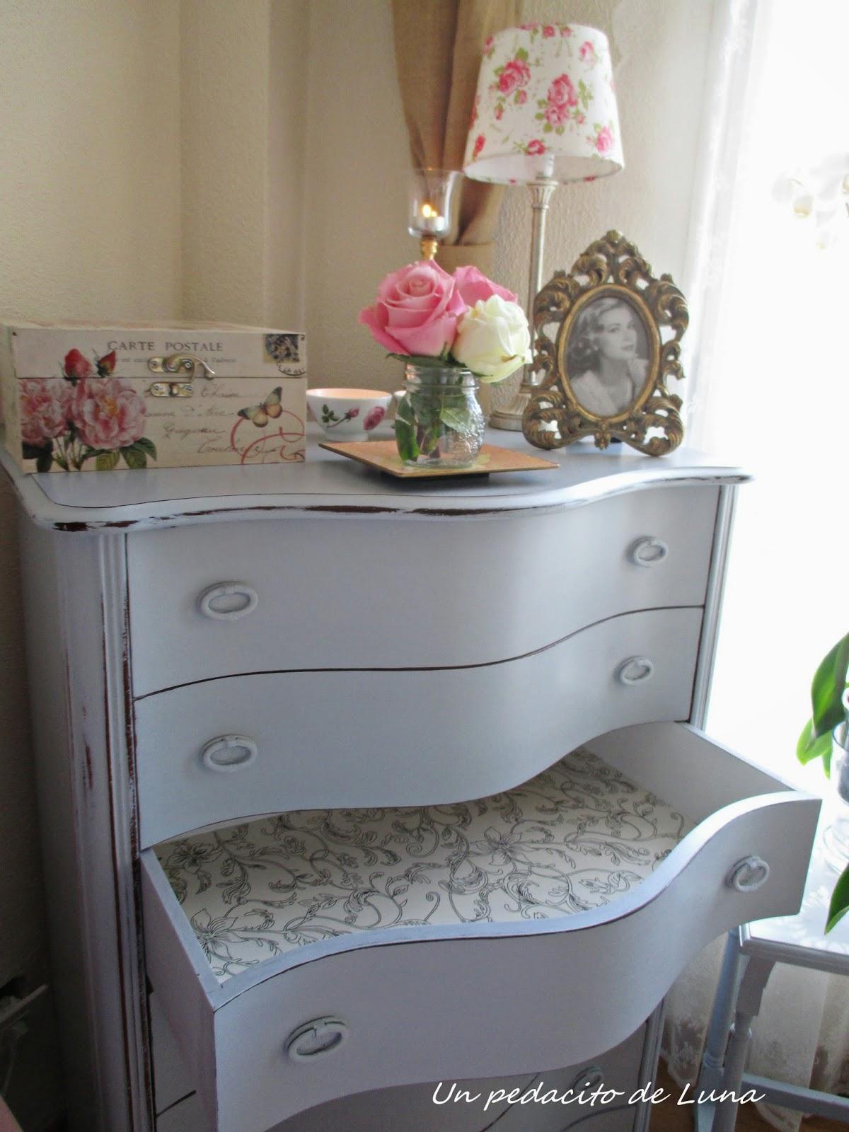 Muebles Restaurados Y Pintados. Amazing Beibehang Perlas Antiguos ...