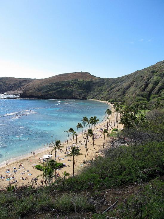 Traumhafter Strand bei Honolulu