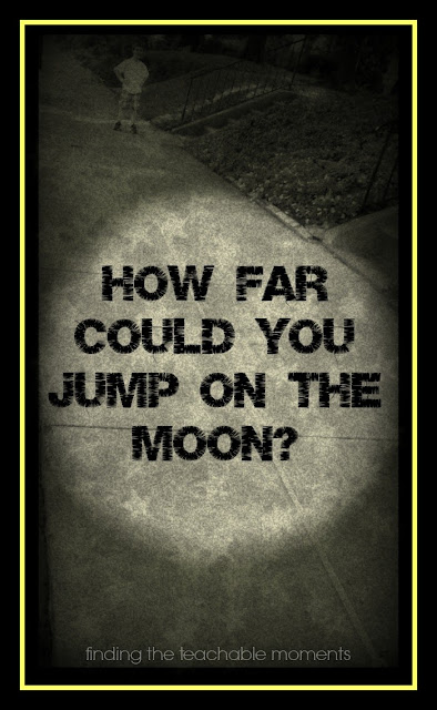 How Far Could You Jump on the Moon?