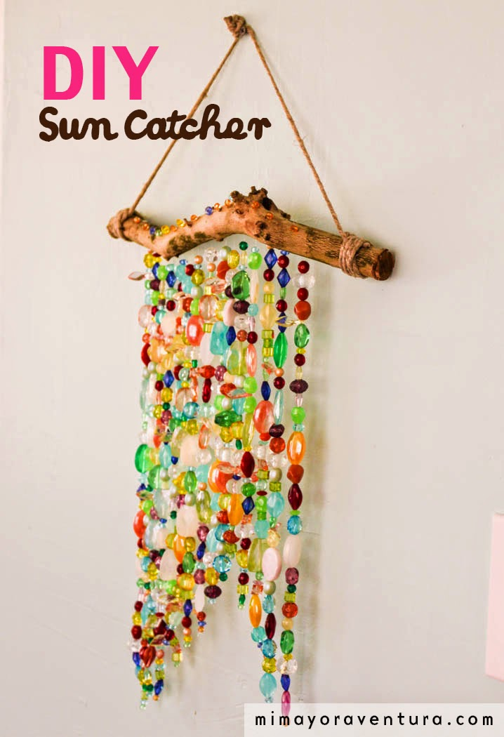 DIY Suncatcher - Mi Mayor Aventura Blog