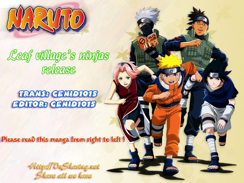 Naruto chap 429 Trang 1 - Mangak.info