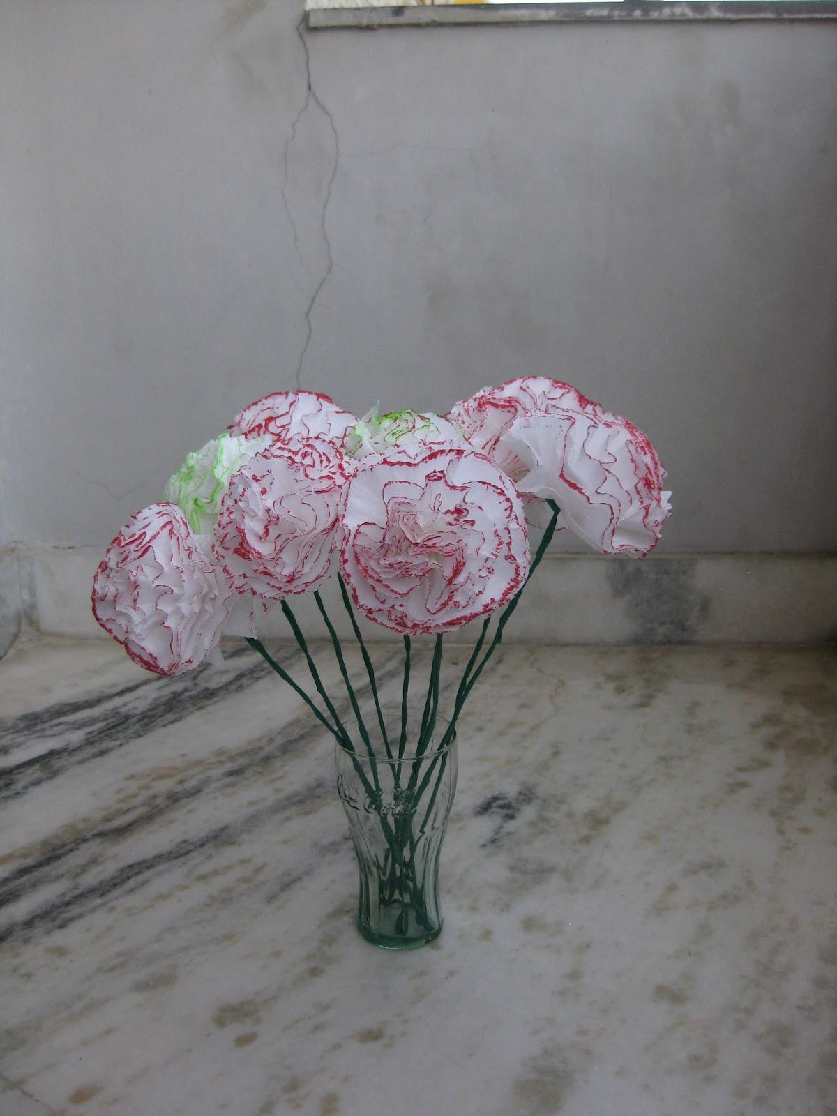 himaja u0026 39 s crafts  tissue paper flower1